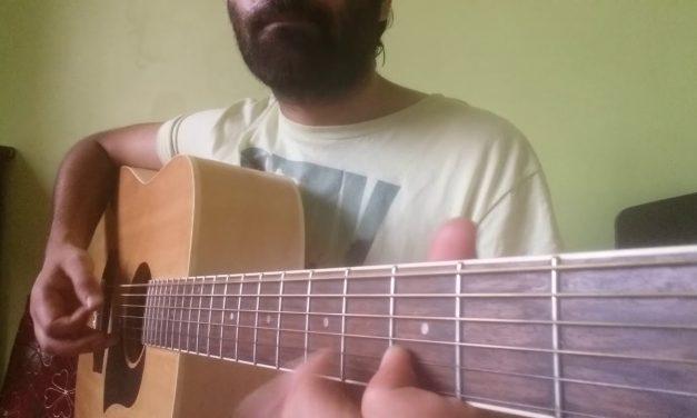 Beautiful Tinariwen guitar lick lesson