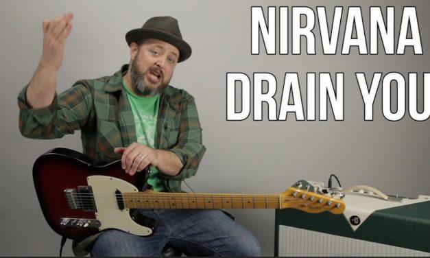 """Nirvana """"Drain You"""" Guitar Lesson"""