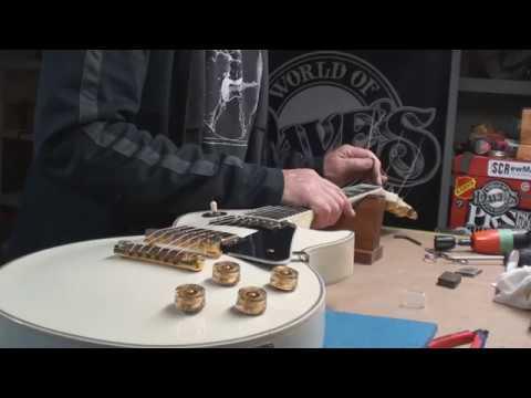 Gibson Les Paul Setup Marathon with Top Wrap Hack