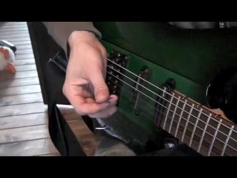 How to play pinch harmonics on the electric guitar