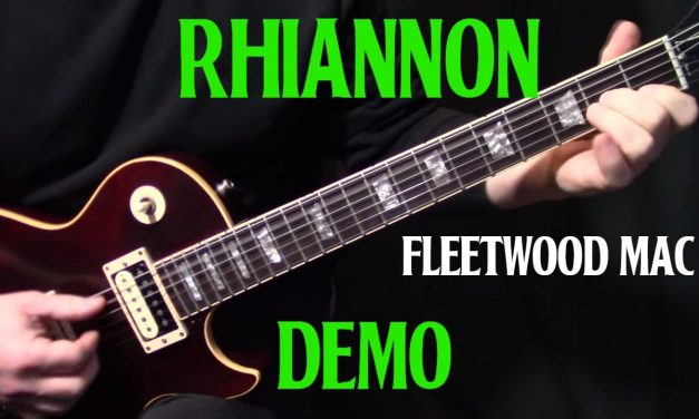 """how to play """"Rhiannon"""" on guitar by Fleetwood Mac 