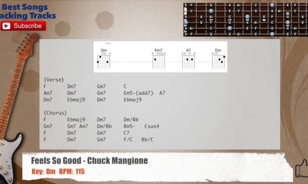 Feels So Good – Chuck Mangione Guitar Backing Track with chords