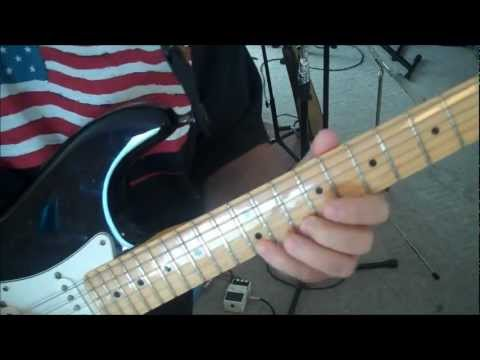 Guitar Lesson: E minor Pentatonic, Blues, 3rds – 5th Pattern