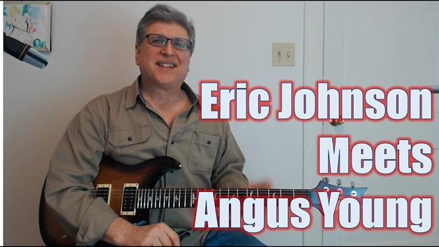 Eric Johnson meets Angus Young Lick (Guitar Lesson with TAB)