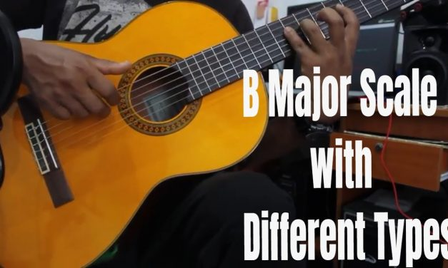 How to play B major scale for beginners – with different types – Nepali