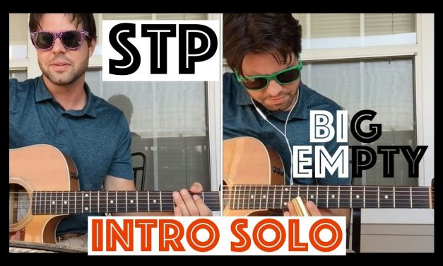 Guitar Lesson: How To Play The Slide Intro To STP's Big Empty