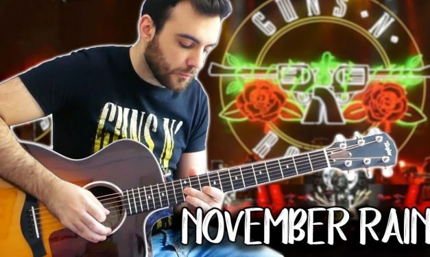 November Rain  – Acoustic Guitar Solo