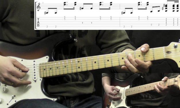 Jimi Hendrix – Foxy Lady – Rock Guitar Lesson (with Tabs)
