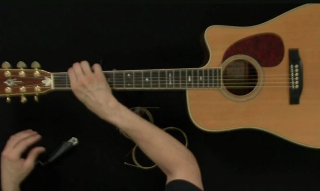 How To Change Acoustic Guitar Strings – Guitar Lessons