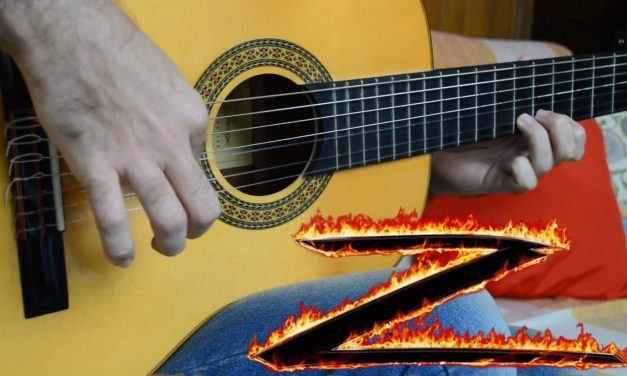 The Mask of Zorro theme – Fingerstyle Guitar (Marcos Kaiser) #102