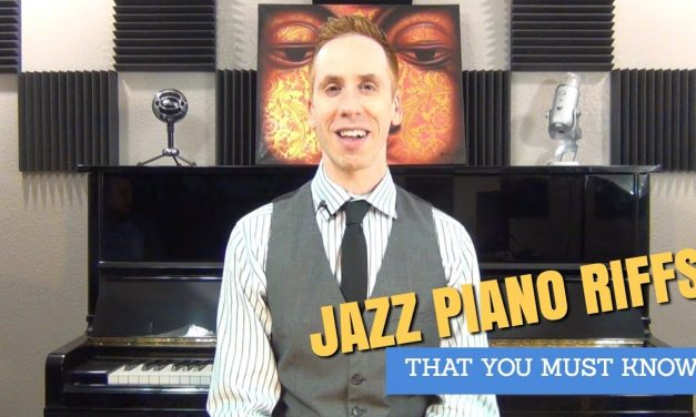 Jazz Piano Riffs – 2 Mind Blowing Licks Tutorial