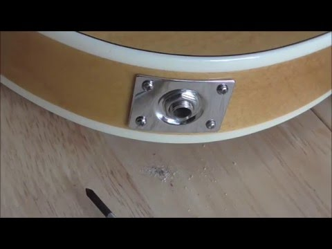 How to Fix a Loose Guitar Jack Input/Socket