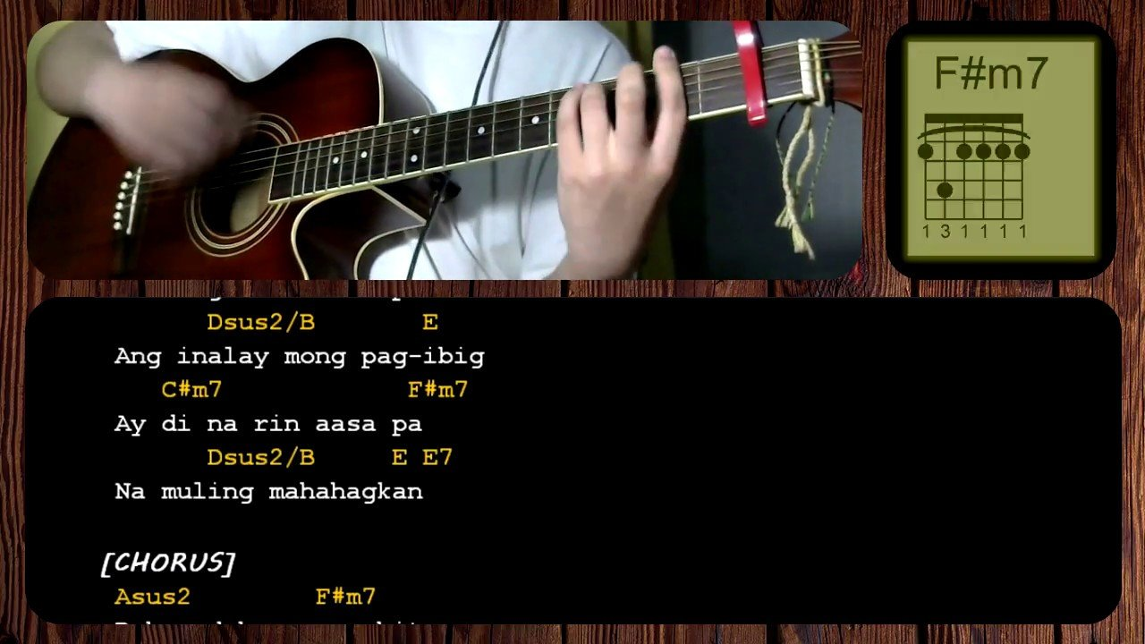 Dahan By December Avenuejireh Lim Guitar Chords Acoustic The Glog