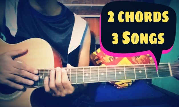 2 chords 3 Melody Bollywood songs || Guitar lesson ||