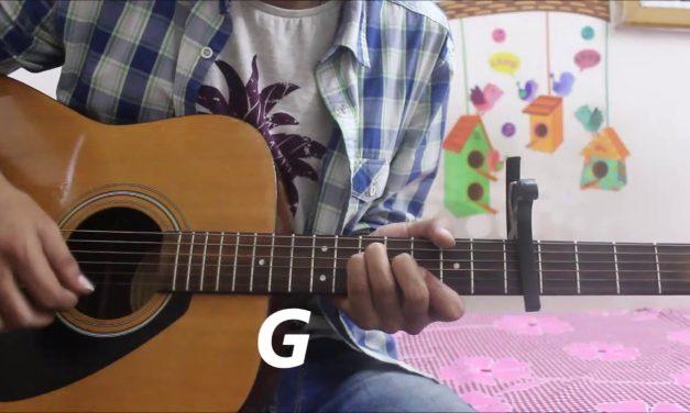 Dil Ibadat Kar Raha Hai – K.K – Guitar cover lesson chords hindi easy – Adnan Ahmad