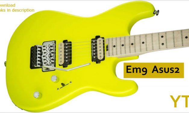 80's Rock Ballad Guitar Backing Track