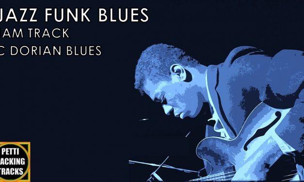 Jazz Funk Blues Guitar Backing Track Jam in C Dorian Blues (Grant Green)