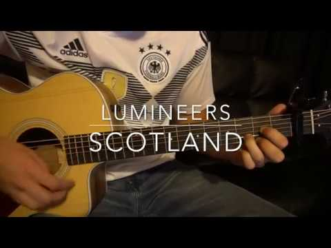 The Lumineers // Scotland // Easy Guitar Lesson (W/Tabs!)