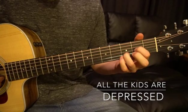 Easy Guitar Lesson // Jeremy Zucker // all the kids are depressed