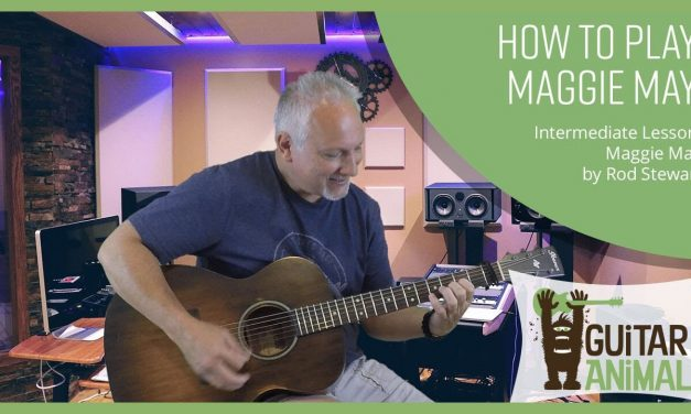 How To Play Maggie May by Rod Stewart – Guitar Lesson