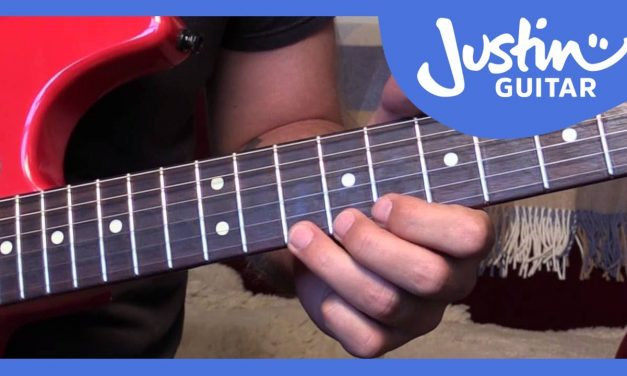 Blues Lick: Stevie Ray Vaughan Style (Guitar Lesson BL-522)
