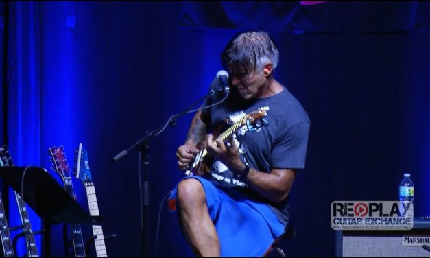 George Lynch Clinic at Replay Guitar Exchange
