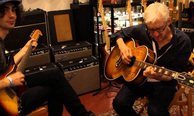 Bill Kirchen on Dave Dudley's Gibson SJ-200