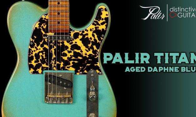 Palir Titan Classic   Aged Daphne Blue Relic