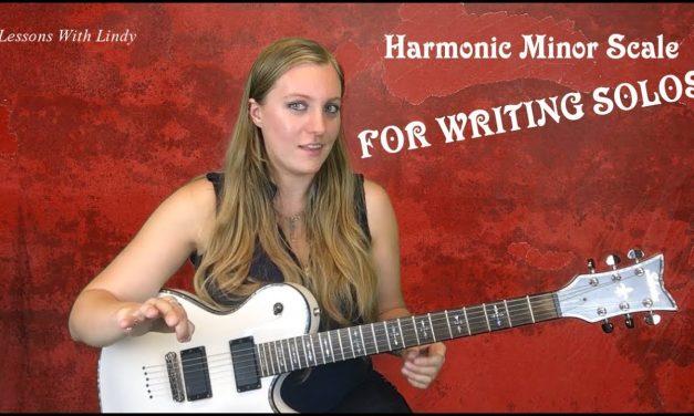 Harmonic Minor Scale for Soloing – Beginner/Intermediate Guitar Lesson