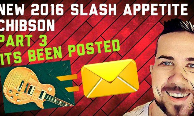 New CHIBSON – Slash Appetite Les Paul – Part 3: Posted
