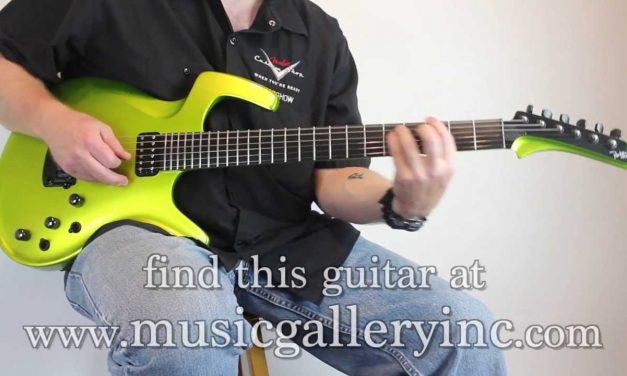 SOLD! Parker Fly Mojo in Lime Green | The Music Gallery