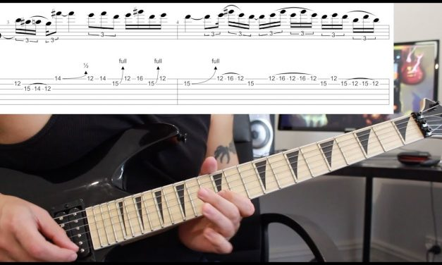 How to play 'Walk' by Pantera Guitar Solo Lesson w/tabs