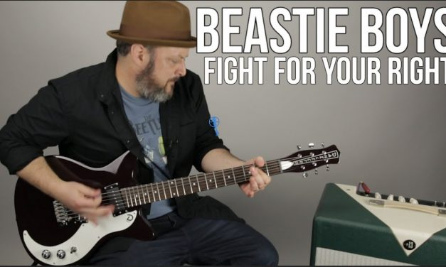 Beastie Boys – Fight For Your Right To Party – Guitar Lesson