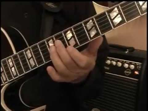 Jazz Guitar Solo Over The Changes of  All Of Me