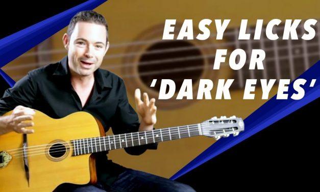Easy Licks For 'Dark Eyes' – Gypsy Jazz Guitar Secrets Lesson