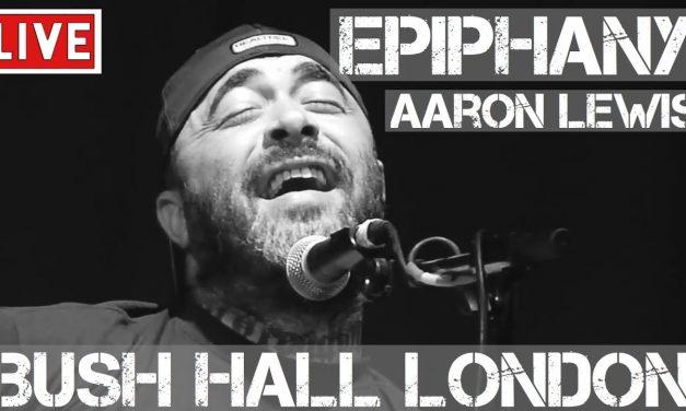 Aaron Lewis – Epiphany (Live & Acoustic) in [HD] @ Bush Hall, London 2011
