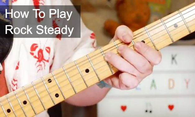 'Rock Steady' Aretha Franklin Guitar Lesson