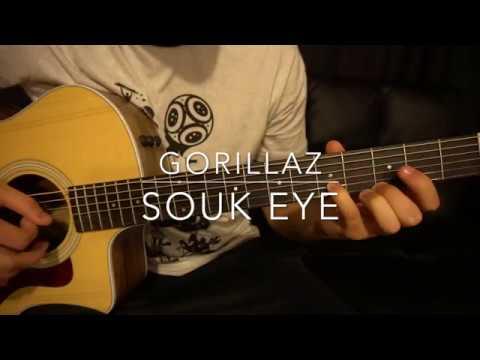 Gorillaz // Souk Eye // Easy Guitar Lesson (W/Tabs!)