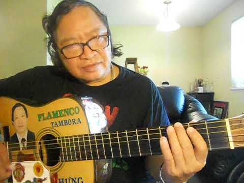 self taught guitar lesson 16 exercise bass rumba, bolero, chachacha of scale G mineur