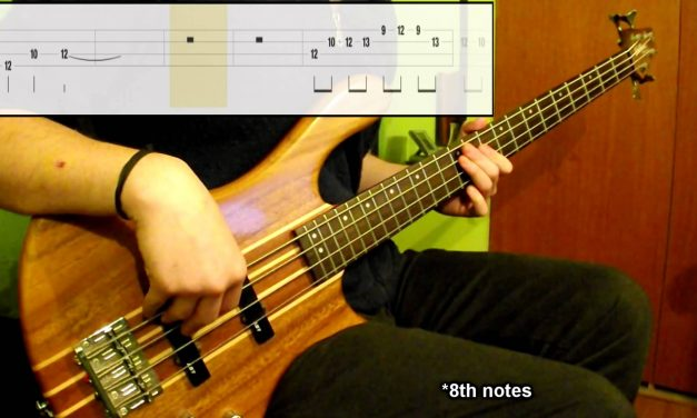 Lesson #10: Minor Blues Scale, All Positions (Bass Exercise) (Play Along Tabs In Video)