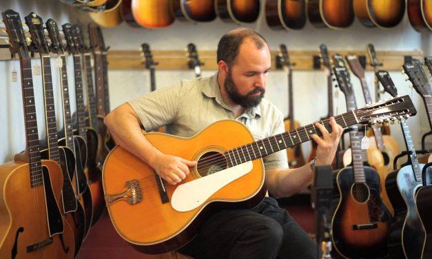2014 Fraulini Francesca Leadbelly Model 12 String Acoustic Guitar at Retrofret Vintage Guitars