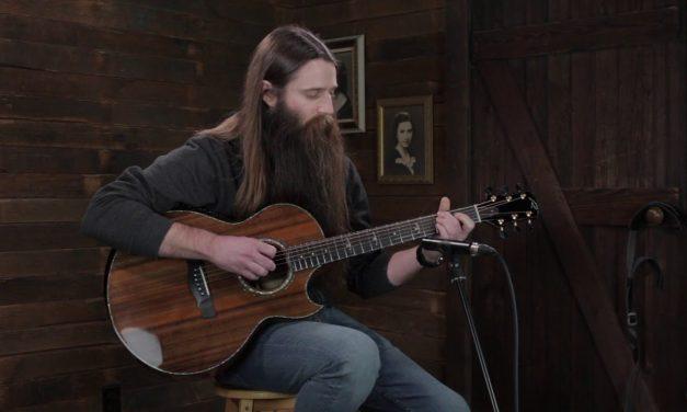 Kevin Ryan Nightingale Grand Soloist – Sinker Redwood / Master Koa #914