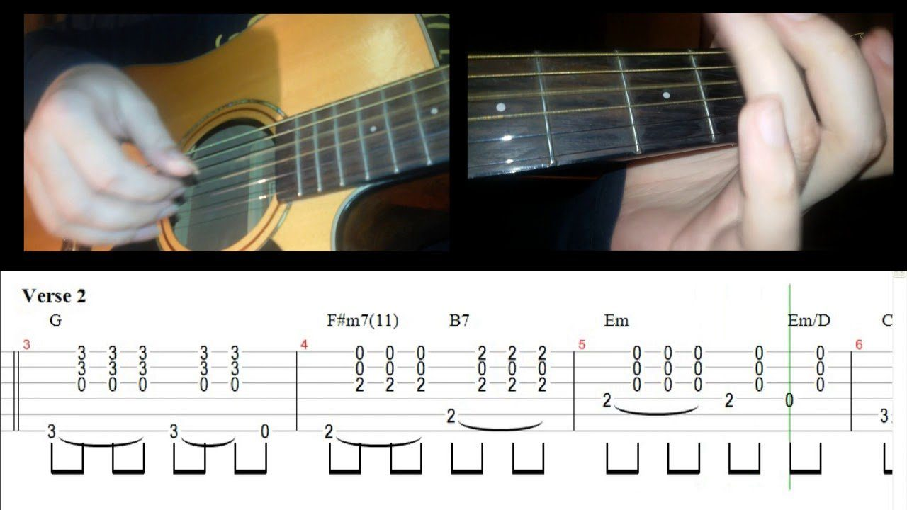 The Beatles Yesterday Guitar Lesson With Tabchords The Glog