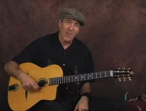 Gypsy Jazz rhythm swing strumming & chords guitar lesson jazz manouche