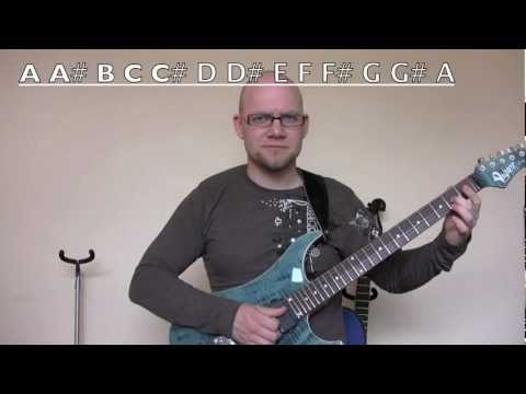 Electric Guitar Lesson For Total Beginners – Vigier Excalibur Ultra – Learn Electric Guitar