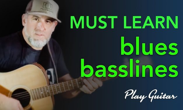 Must Learn! Blues Basslines Arranged for Guitar – Jason Carey  ||  LIVESTREAM Wed@9PM EST  ||