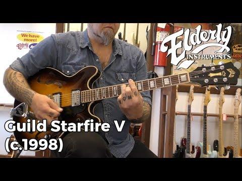 Guild Starfire V (c.1998)   Elderly Instruments