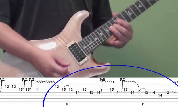 Guitar Lesson – Back in Black (solo), including tabs!