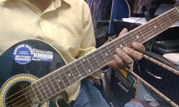 Raag Pahadi Guitar Lesson In Hindi.