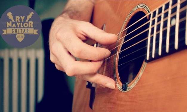 How to NAIL a travis picking pattern – acoustic fingerstyle guitar tutorial lesson
